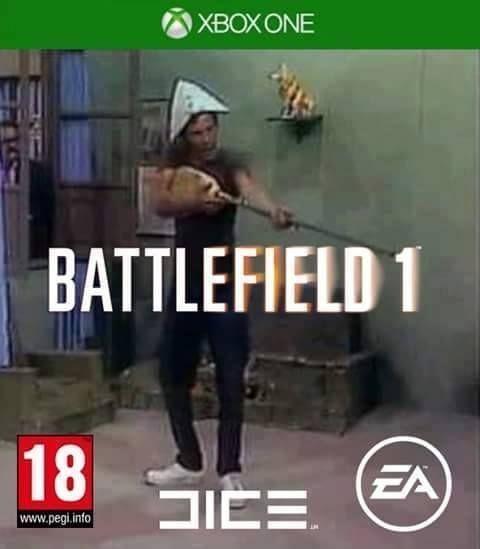 (Inserte musica de Battlefield 1) - meme