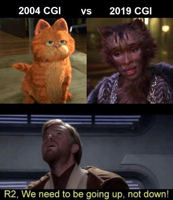 Garfield and Star Wars? - meme