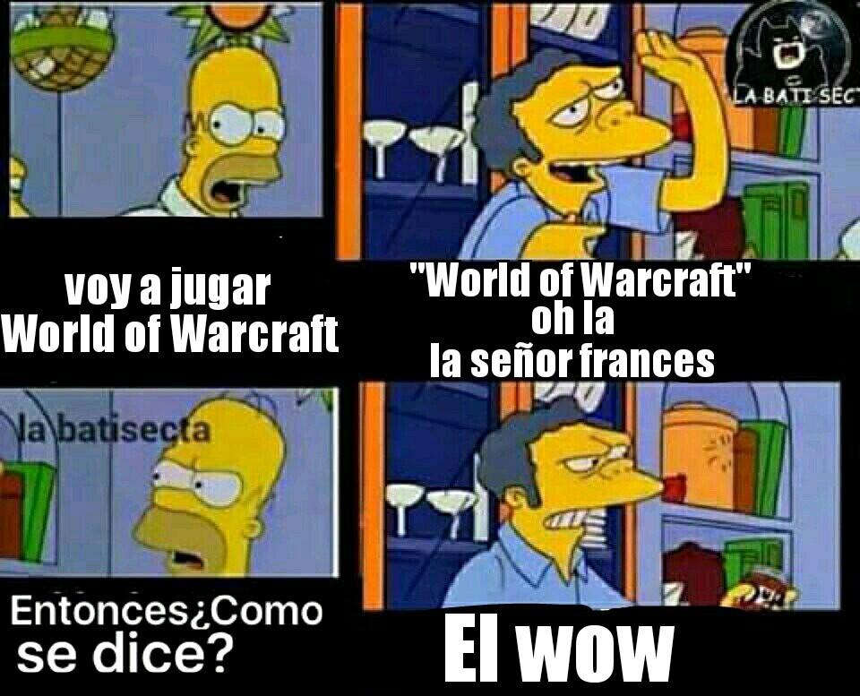 El wow - meme