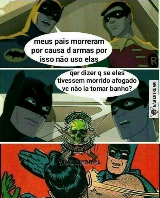 E se eles morressem pra morcegos? - meme