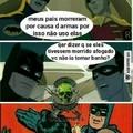E se eles morressem pra morcegos?
