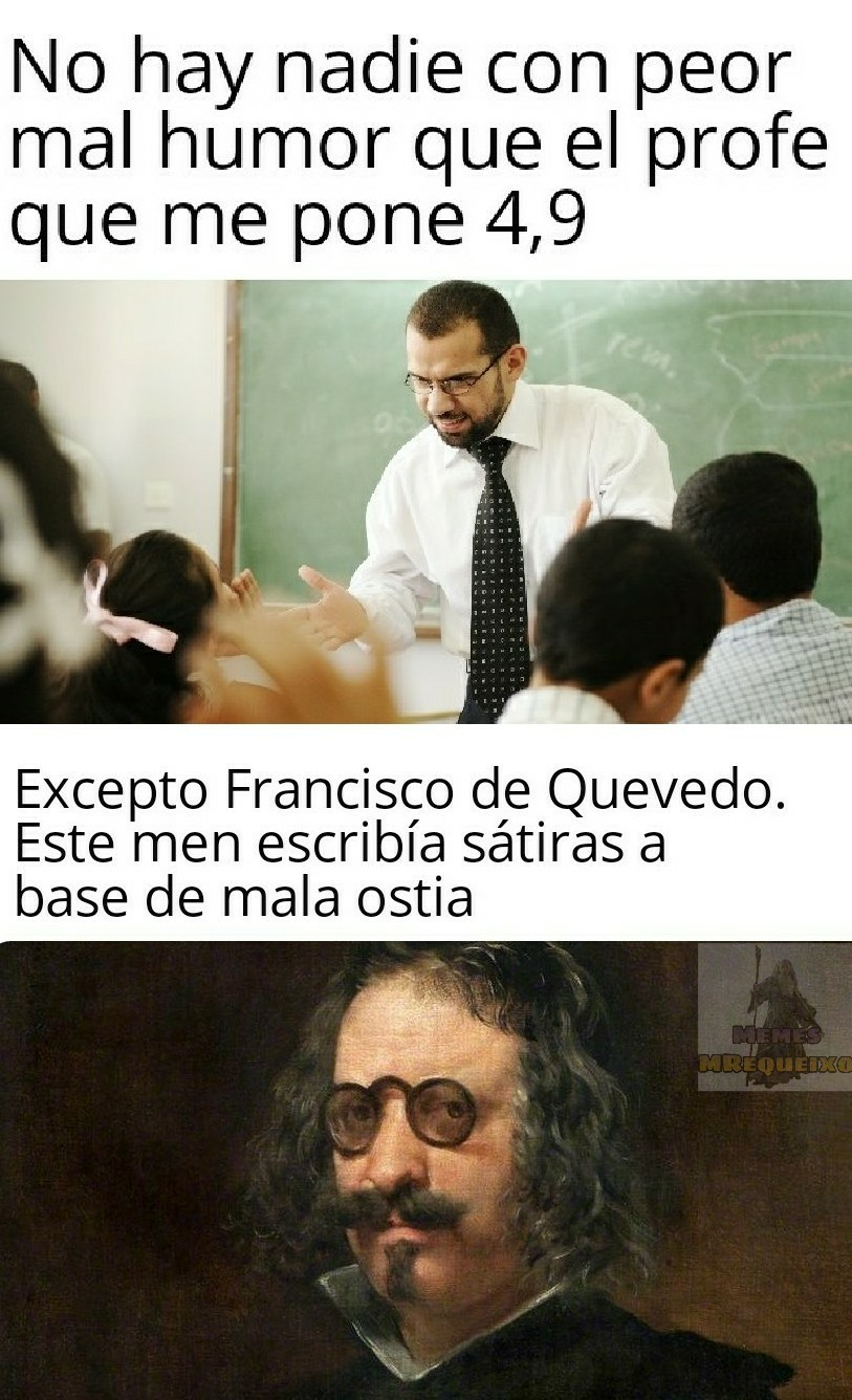 Meme para expertos en literatura