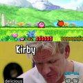 Explicación: Kirby se lo come