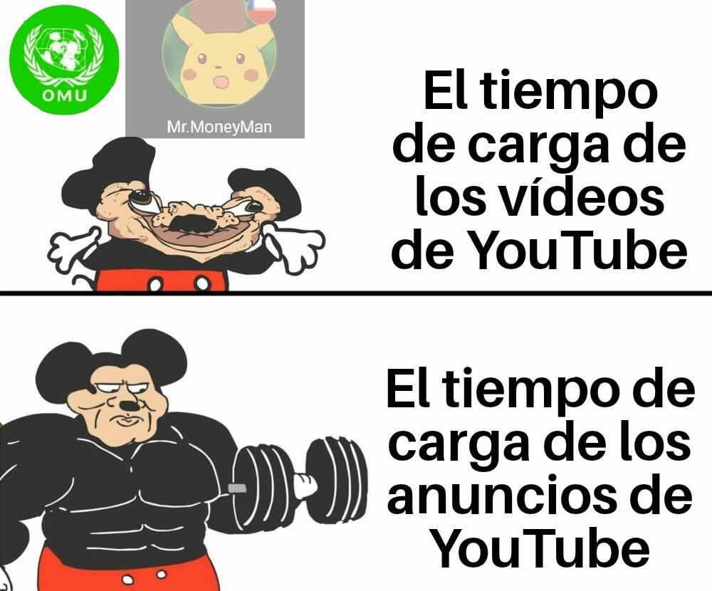 Mickey mamado - meme
