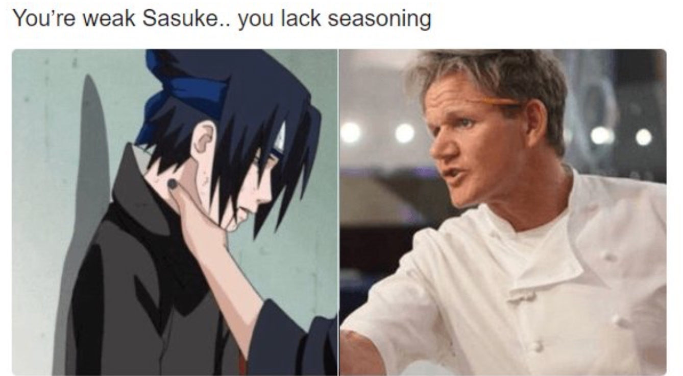 You need seasoning - meme