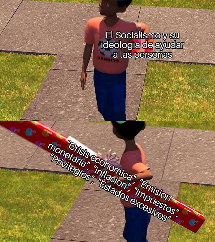 El socialismo no... Ya saben el resto - meme