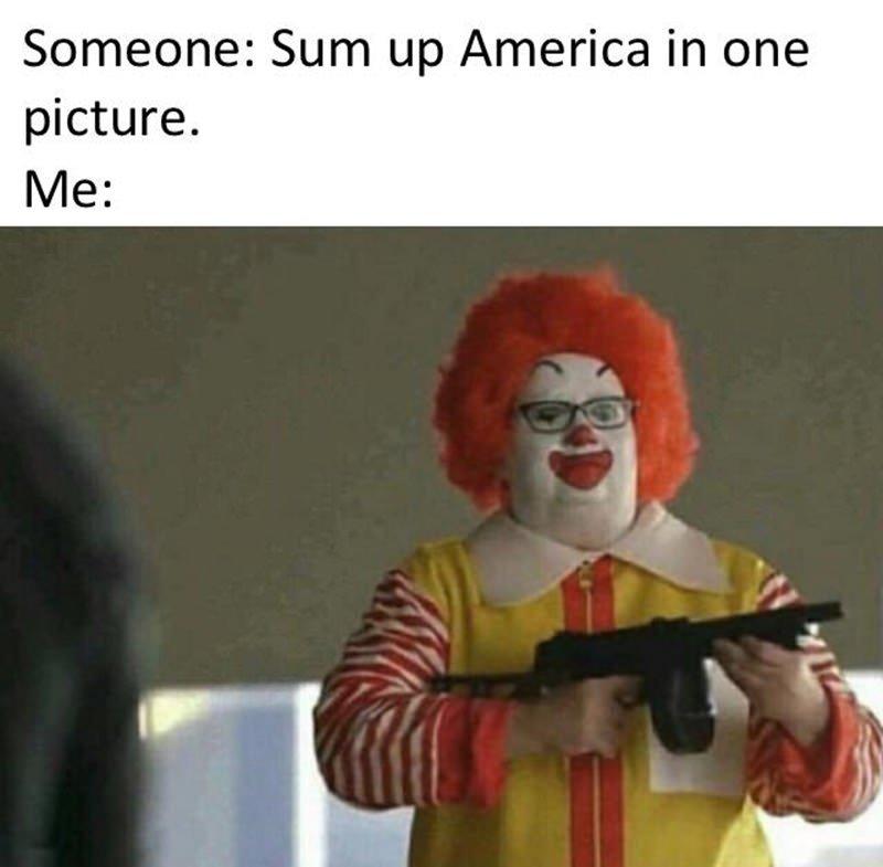 Ronald GunDonald - meme