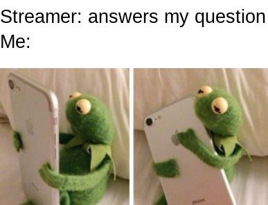 Answer my question - meme