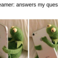 Answer my question