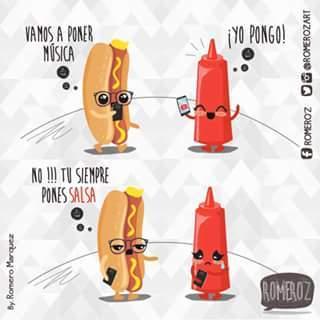 la salsa :V - meme