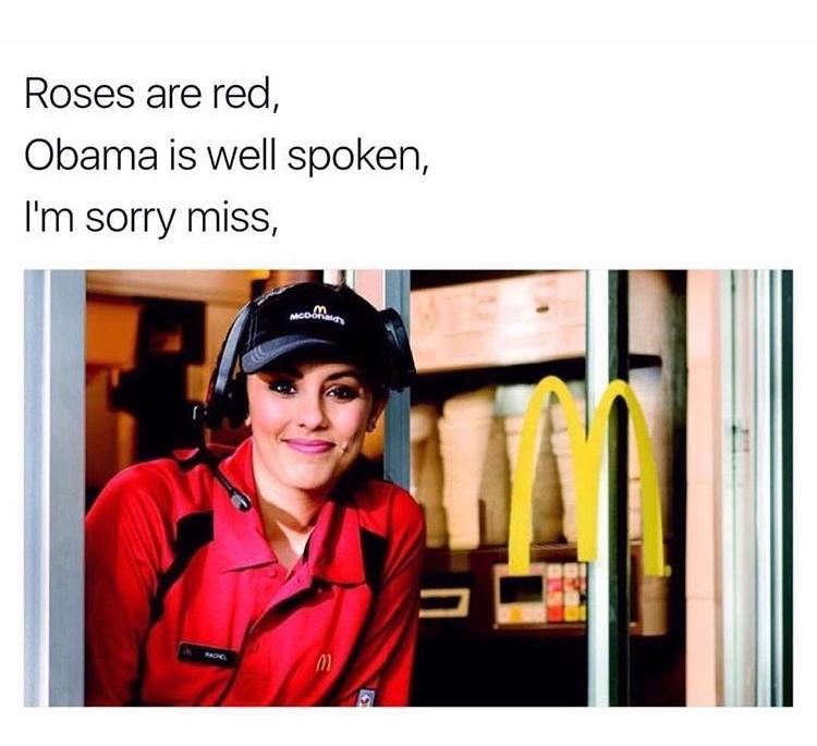 but our ice cream machine is broken.
