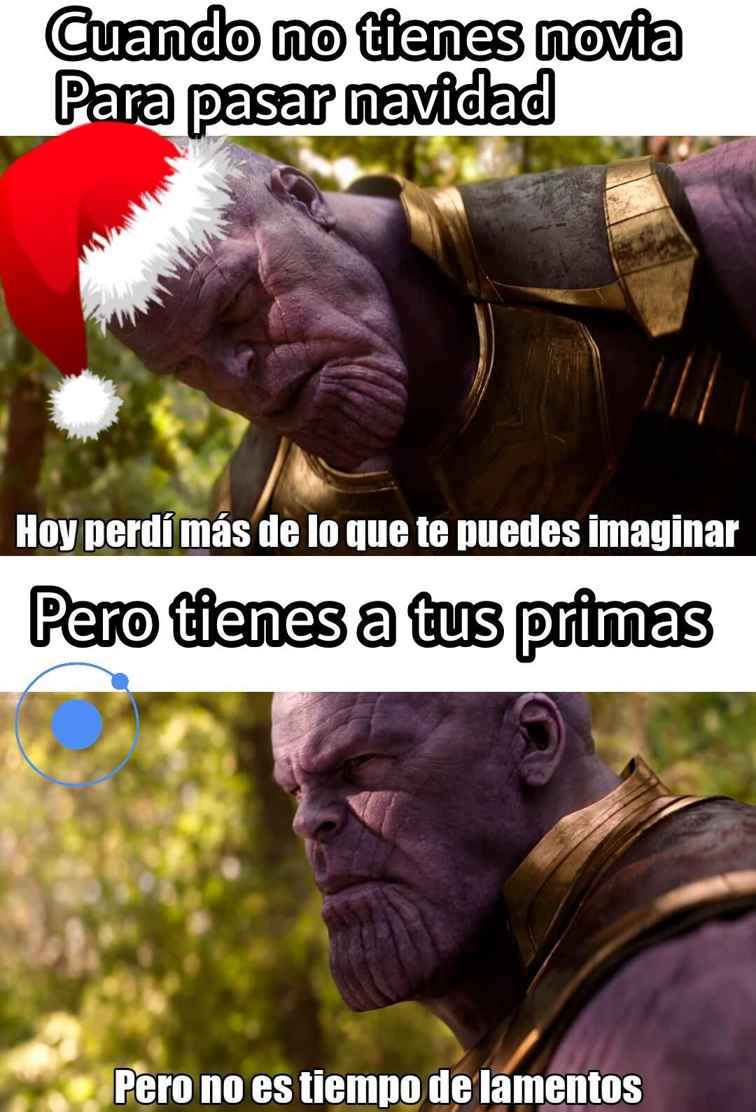 El título les desea una feliz navidad - meme
