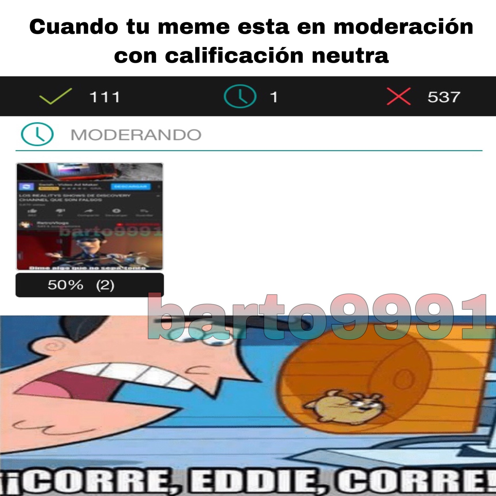 Un meme dentro de un meme= METAMEME