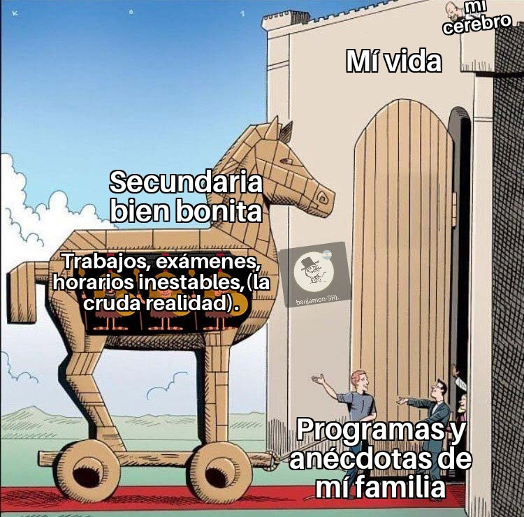 Cruda realidad - meme