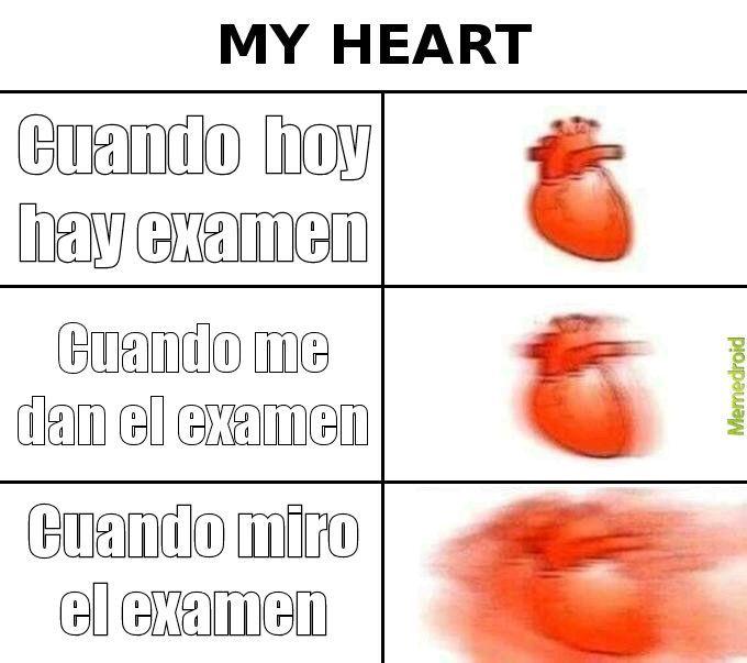 Tengo examen :o - meme