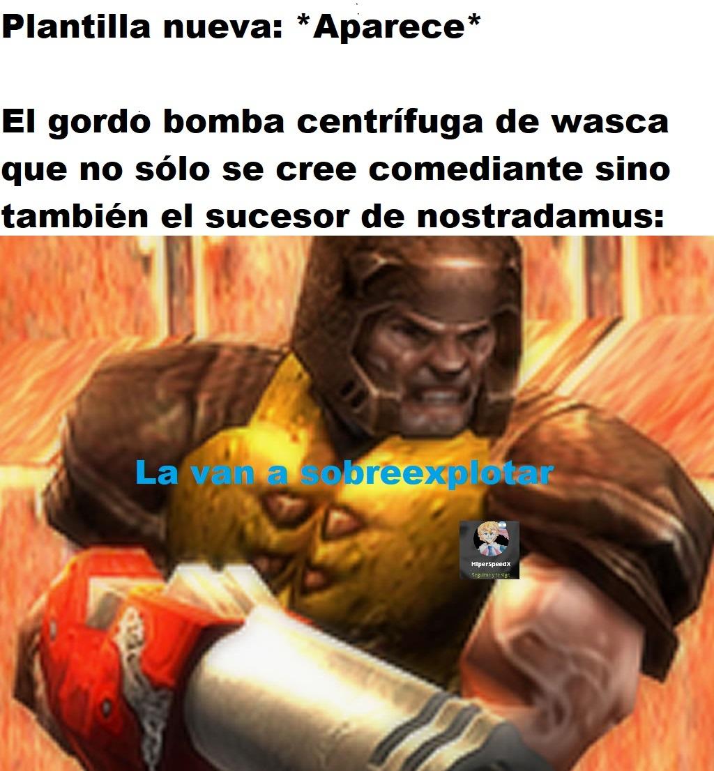 wasca = semen - meme