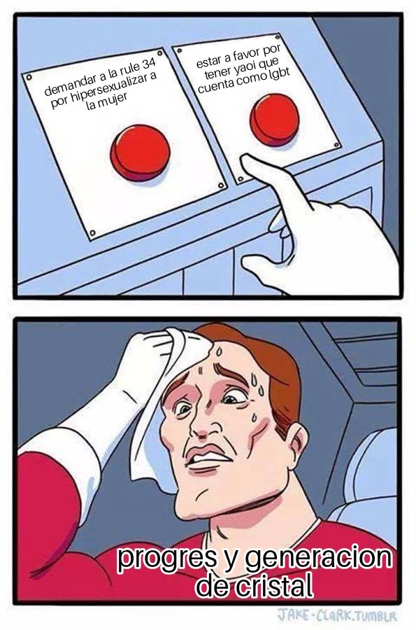 No saben decidirse - meme