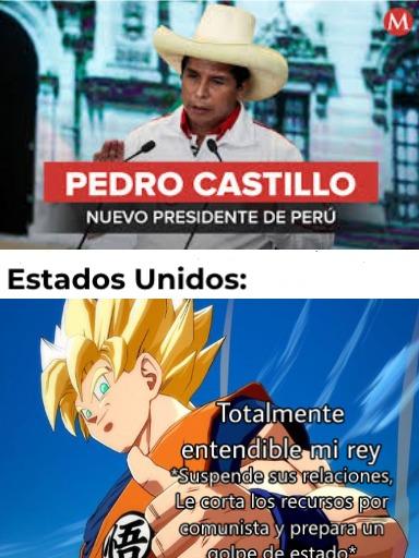 """Recuerdan el chiste sin gracia de """"Orgulloso de no ser peruano"""". Bueno, ahora es el momento adecuado de usarlo - meme"""