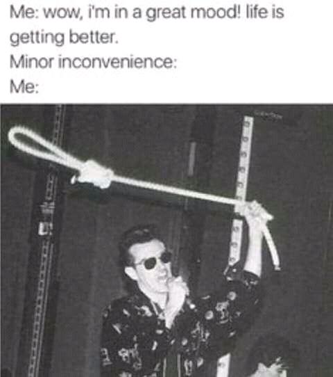 I fee like shit - meme