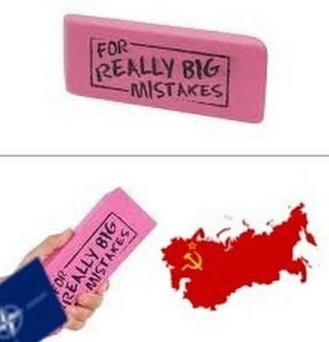 Communism was a mistake - meme