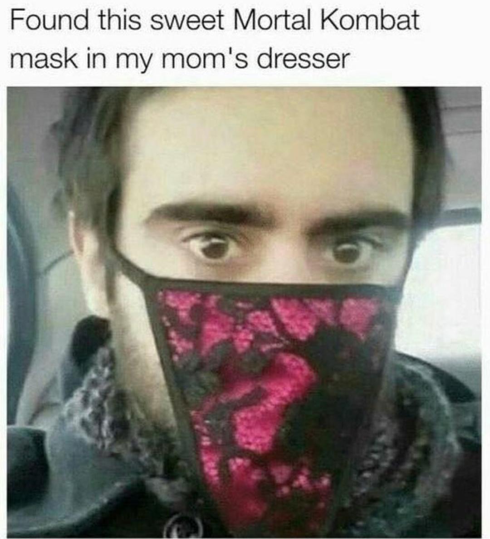 Mom likes Mortal Kombat - meme