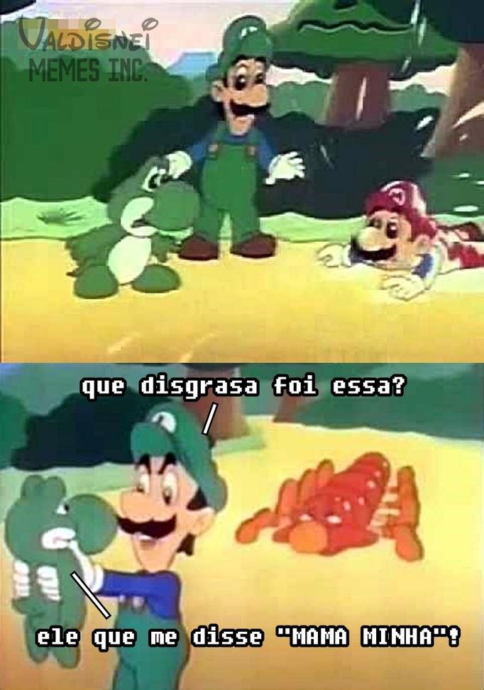 Super Mario Brosderagem - meme