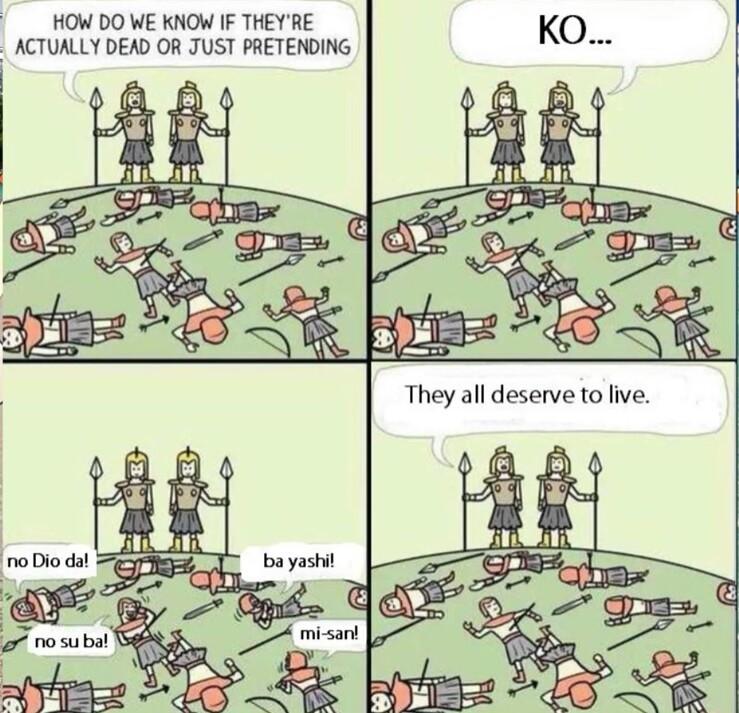 KONO DIO DA! - meme