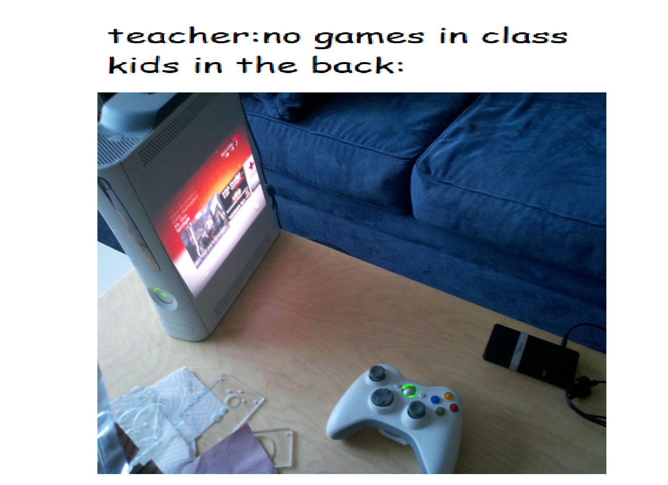 no games - meme
