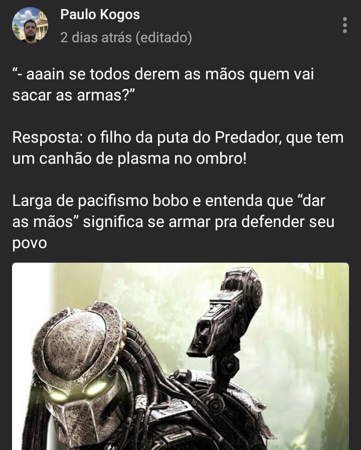 Predador - meme