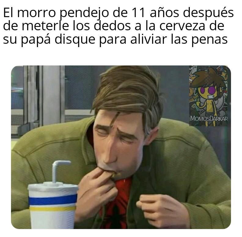 El morro pendejo - meme