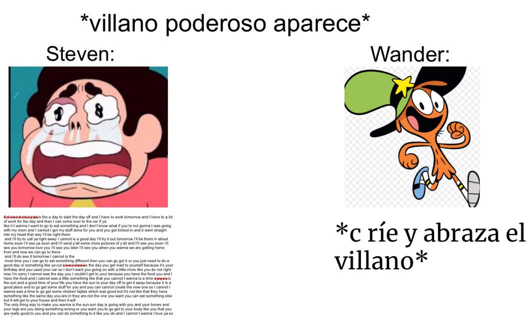 Ídolo el wander - meme