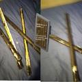 Espadas y cama reveal