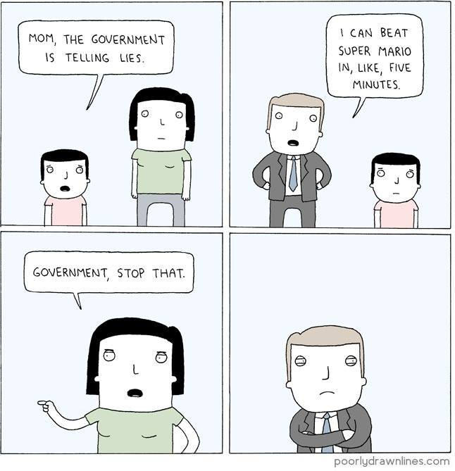 Why government, why?! - meme