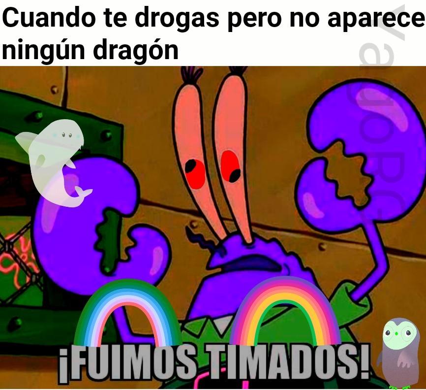 Espero que no me quedara demasiado mal, no se hacer efecto drogas así que alteré los colores de todo xd - meme