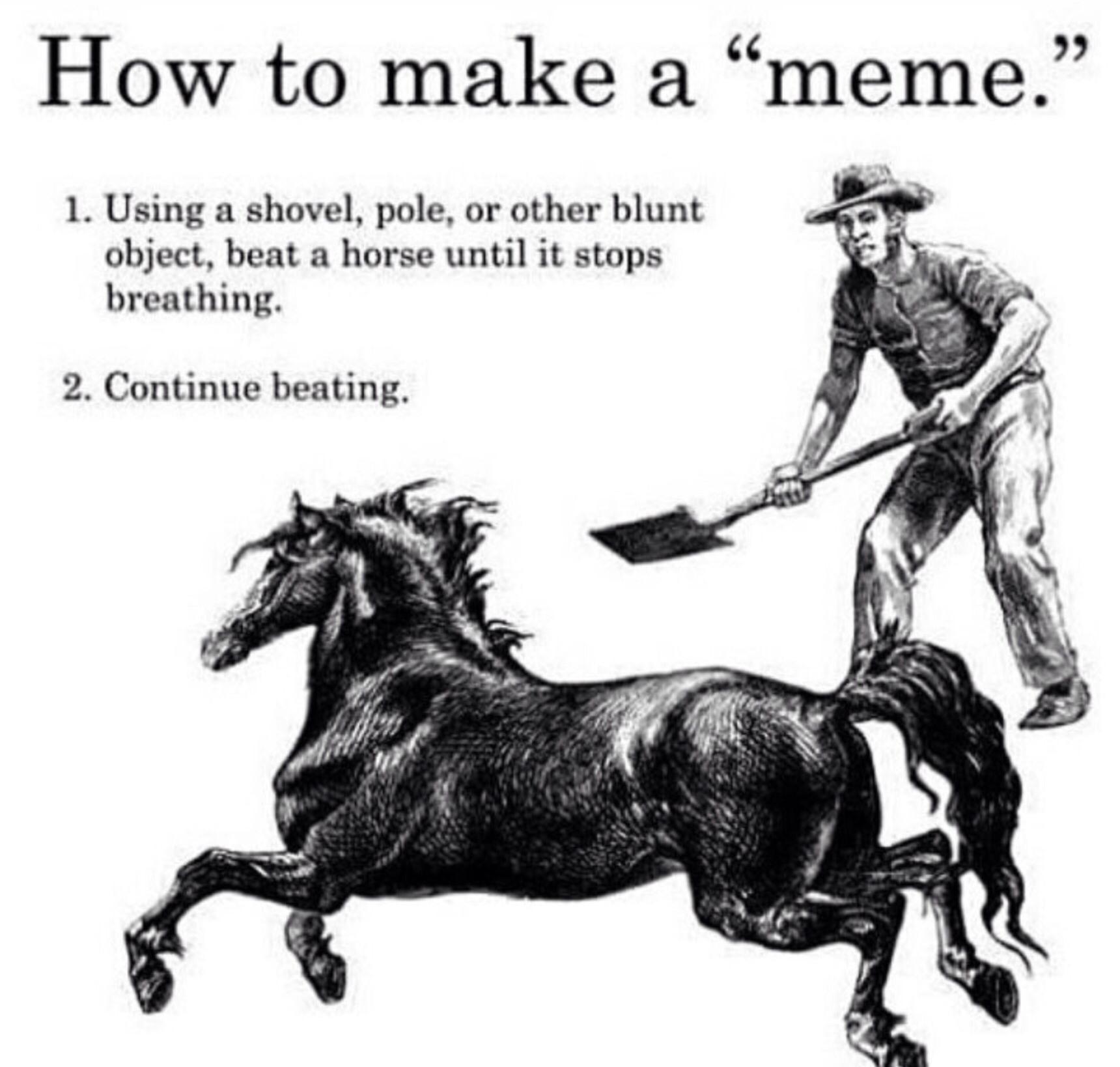 how all memes begin