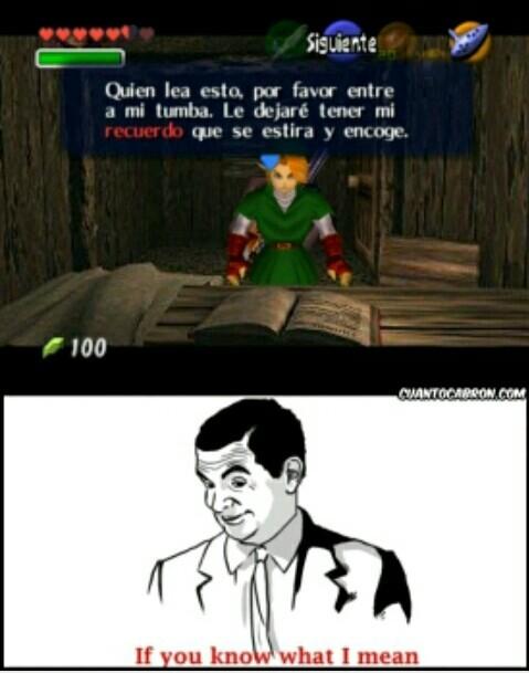 Link perver - meme
