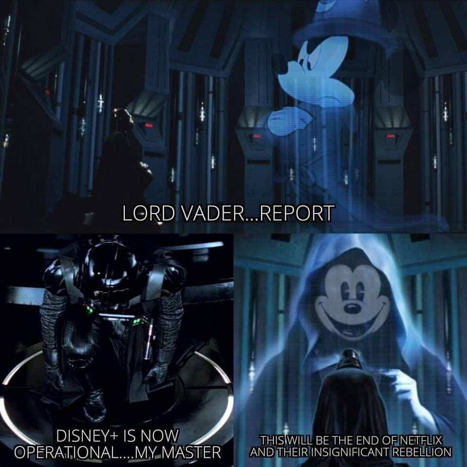 Our lord Mickey - meme