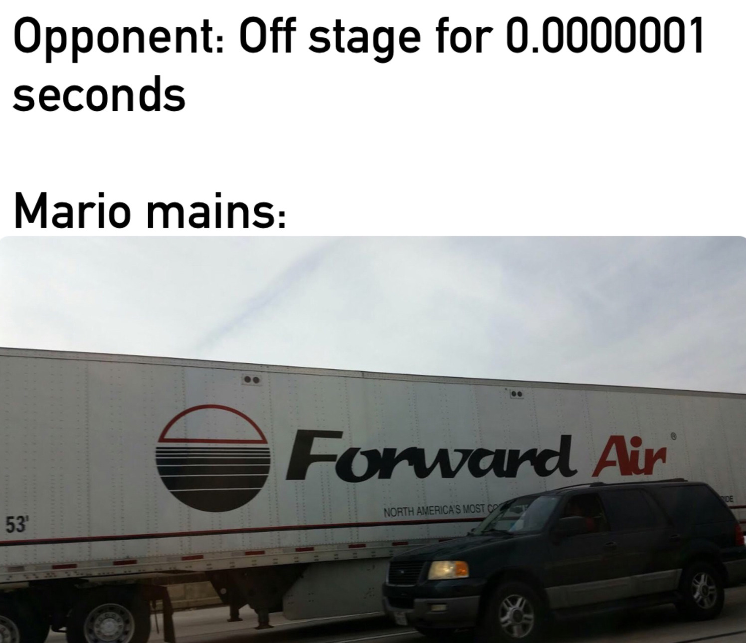 Forward Aerial - meme