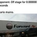 Forward Aerial