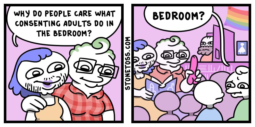 dongs in a bedroom - meme
