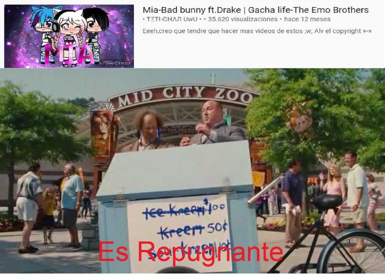 Gacha Life + bad bunny = Cancer nivel 2173621874517823628173621 - meme