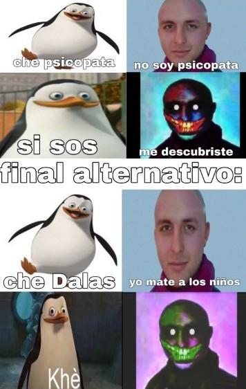 NOOO DALAS COMO PUDISTE - meme