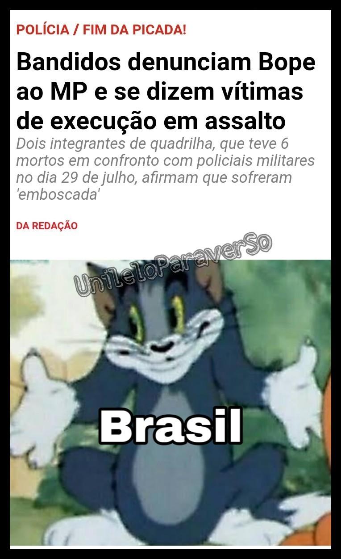 Bem vim ao Brasil - meme