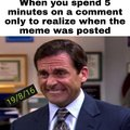 I never comment that much anyway