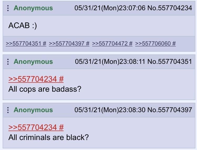 4chan thread I found in the wild - meme