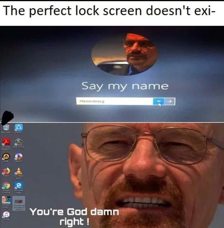 say my name - meme