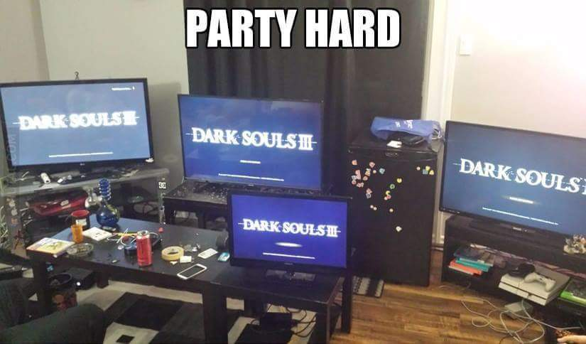 Party Hard - meme