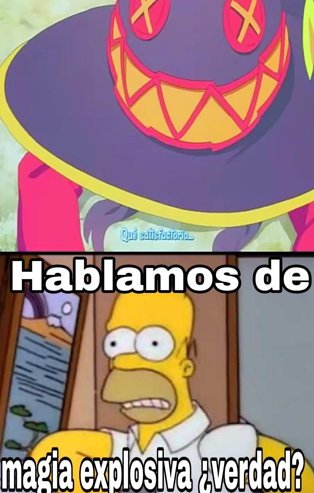 Este Homero es un loquillo - meme