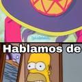 Este Homero es un loquillo