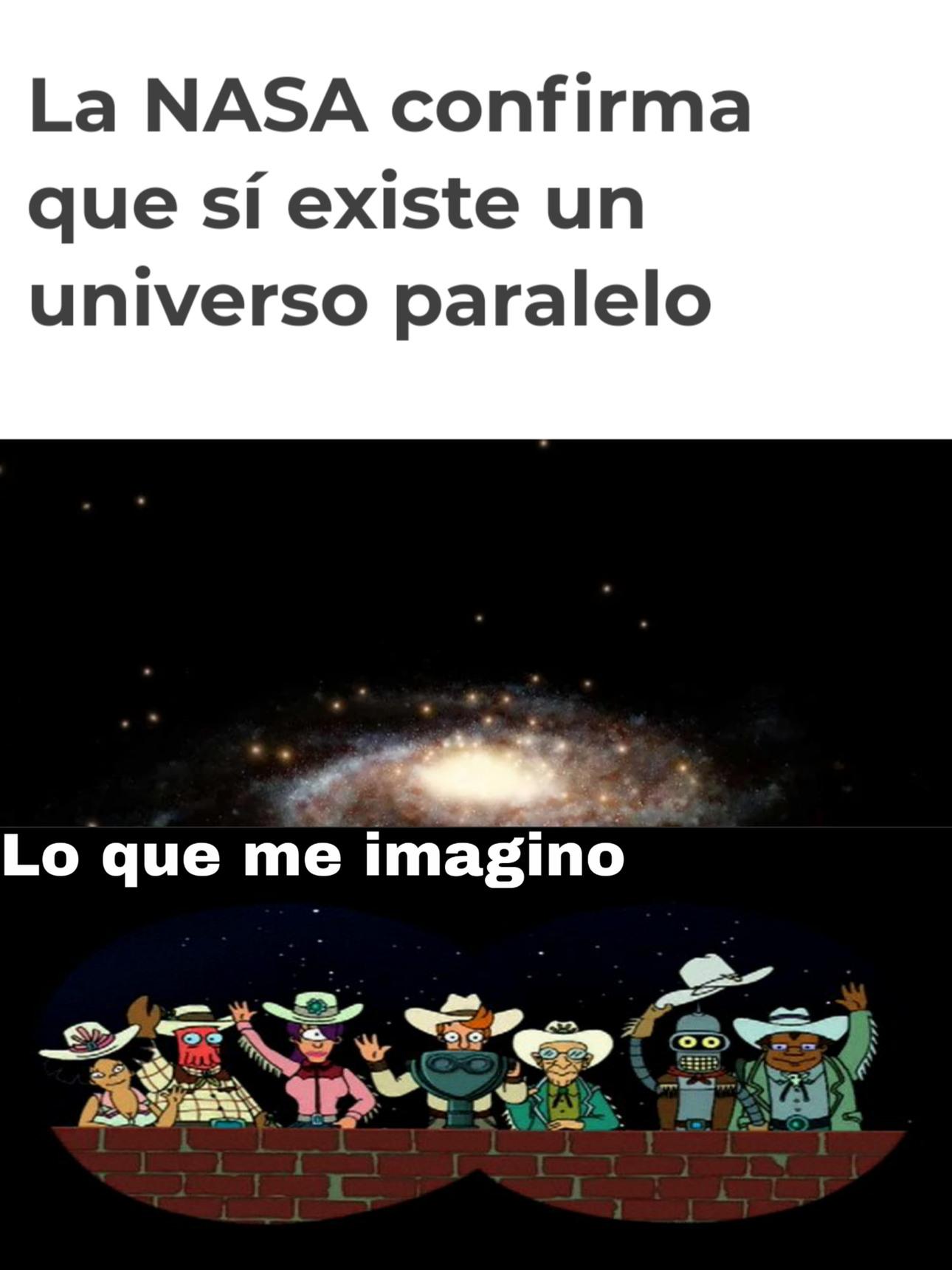 El universo de los vaqueros - meme